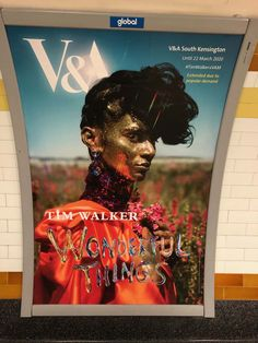 Tim Walker Wonderful Things Victoria and Albert Museum, London until 22nd March 2020.  We would highly recommend a visit to the exhibition if you can get there. It's a must for anyone interested in the creative process, or who enjoys seeing the world from a slightly different perspective. The flower field photographs (that featured in British Vogue December 2018) are quite stunning! Different Perspectives, Tim Walker, Delphinium, Victoria And Albert Museum, Wonderful Things, Confetti, Fields, Photographs, December