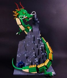 Celebrating Chinese New Year with LEGOs  Cliffs