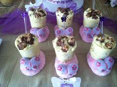 "Photo 10 of 16: Purple Butterflies / Baby Shower/Sip & See ""Purple Butterflies"" | Catch My Party"