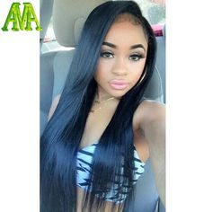Special lace front wig Full Lace Human Hair Wigs Silky straight lace Wigs for Blacks Wholesale Price Remy Human Hair, Human Hair Extensions, Human Hair Wigs, Weave Hairstyles, Pretty Hairstyles, Straight Hairstyles, Woman Hairstyles, Black Hairstyles, Hair