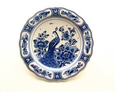 Lovely Delf pottery...something about the blue on white is so classic but never bland.