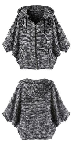 Free shipping with only $24.99! You and this top will be free for life! Designed in casual style and drawstring hooded design, this knitting top is perfect for outings. Don't miss it!