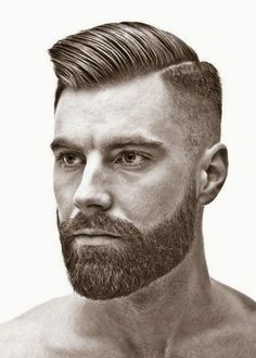 Ultimate style guide to get the perfect beard neckline. Trimming the beard neckline is one of the most important aspects of a good looking beard. Beard Styles For Men, Hair And Beard Styles, Hair Styles, Short Beard Styles, Stylish Short Haircuts, Haircuts For Men, Bob Haircuts, Haircut Men, Beard Neckline