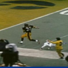 Franco Harris - Pittsburgh Steelers (the Immaculate Reception)