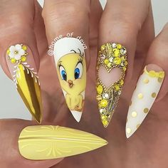 """your success is our reward"" – Ugly Duckling Nails Inc. Disney Acrylic Nails, Summer Acrylic Nails, Best Acrylic Nails, Disney Nails, Acrylic Nail Designs, Pastel Nails, Summer Nails, Nail Swag, Nail Art Vernis"