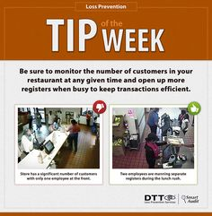 LP Tip of the Week: Monitor the number of customers in your store at any given time #DTTLPTips