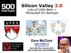 moneyball-for-startups-lots-of-little-bets by Dave McClure via Slideshare Startups, Entrepreneurship, Playing Cards, Coding, Learning, Studying, Teaching, Education, Playing Card