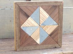 country quilt block wooden barn quilt by IlluminativeHarvest