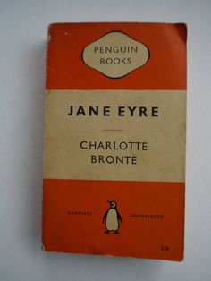 Jane Eyre by Charlotte Bronte by BeauBazaar on Etsy, $19.95