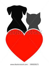 cat and dog outline tattoos - Google Search