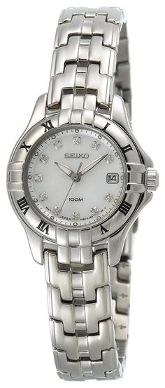 Seiko Women's SXDA31 Diamond Silver-Tone Watch #SEIKO #SEIKOWATCHES #SEIKOWOMENS #WOMENSWATCHES #AMAZONSHOPPING #DIAMONDSWATCH #MULTIWATCHBRAND