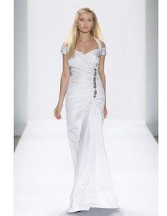Tadashi Shoji Jeweled Taffeta Wedding Dress