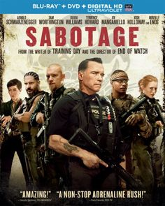 Rent Sabotage starring Arnold Schwarzenegger and Sam Worthington on DVD and Blu-ray. Get unlimited DVD Movies & TV Shows delivered to your door with no late fees, ever. One month free trial! Best Action Movies, Great Movies, New Movies, Movies Online, Action Film, Watch Movies, Universal Studios, Sabotage, Mireille Enos