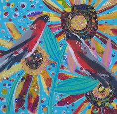 Bull finches - Claire West