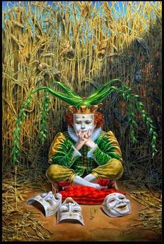 ✯ April  :: Artist Michael Cheval ✯