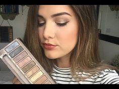 Everyday Makeup Tutorial | Naked Palette - YouTube
