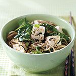 Soba Noodles with Spinach and Tofu