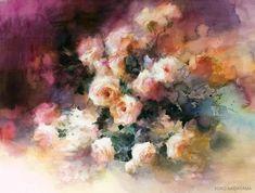 Акварель — зеркало души. Творчество японской художницы Юко Нагаяма - Ярмарка Мастеров - ручная работа, handmade