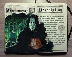 Ilustrações de Harry Potter por Gabriel Picolo