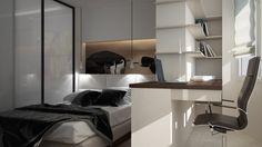 Дизайн небольшой квартиры. - 3D-проект компактного пространства   PINWIN - конкурсы для архитекторов, дизайнеров,…