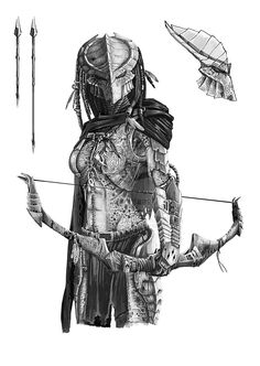 Drawn predator war the world alien - pin to your gallery. Explore what was found for the drawn predator war the world alien Alien Vs Predator, Predator Costume, Predator Cosplay, Predator Alien, Alien Convenant, Predator Comics, Apex Predator, Alien Concept, Concept Art