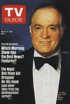 Richard Amsel's TV Guide Cover #28: Bob Hope, May 21, 1983