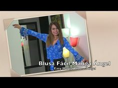 YouTube Easy, Diy And Crafts, Mango, Tv, Crochet Batwing Tops, Log Projects, Dress, Sewing Tutorials, Wrap Blouse