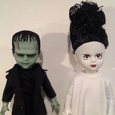 Frankenstein and his Bride, Living Dead Dolls
