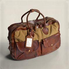 12f876eb05 ralph lauren leather gym bag