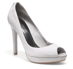 Coach Peep Toe pumps!! On sale for $99. These are my graduation shoes! @ Vicki Pointer