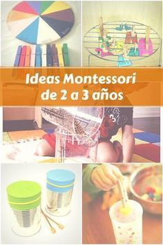 Ideas Montessori de 2 a 3 años. Montessori Toddler, Montessori Education, Montessori Classroom, Maria Montessori, Montessori Materials, Montessori Activities, Kids Education, Creative Activities For Kids, Toddler Learning Activities