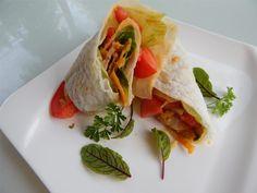Healthy Blackened Tilapia Po'Boy Wrap from Wrap Recipes, Fish Recipes, Seafood Recipes, Tilapia Recipes, Healthy Recipe Videos, Healthy Recipes, Blackened Tilapia, Cajun Tilapia, Baked Tilapia