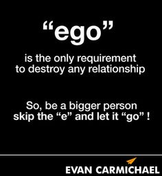 Love Vs Ego Inspirational Quotes Quotes Relationship Quotes