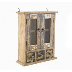 Piccadilly Shabby Chic Painted Wall Cabinet