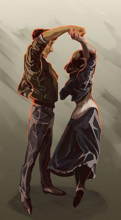 BioShock Infinite. Booker and Elizabeth (Anna) ;~;
