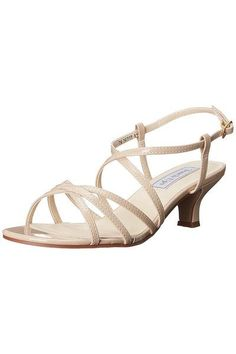 506ef3dd9 Eileen Nude Patent Sandal. Sydney s Closet. Dress SandalsGladiator SandalsWide  Width ShoesFootwearProm ...