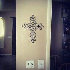 Cooking, Crafting & Kids: DIY Toilet paper roll wall art