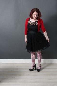 BB Dakota When the Night Comes Dress in Noir - Mod Retro Vintage Dresses | ModCloth
