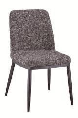 Diamond Tempo Dining Chair Y-249*Set of 2 ChairsMaterials:Grey FabricPowder Coated LegsDimensions: 18 x 23 x 34