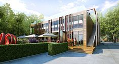 CGarchitect - Professional 3D Architectural Visualization User Community | Restaurant in Gorky Park, Russia, Moscow