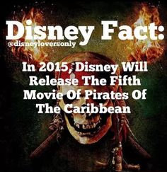 OMG OMG OMG OMG OMG I TOLD ALL YOU PEOPLE THAT THEY WOULD I HAD FAITH!!!!! PIRATES OF THE CARIBBEAN WILL LIVE FOREVER I LOVEEEEEE THEM!!!!!!!!!!!!