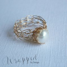 This wire-wrapped ring.
