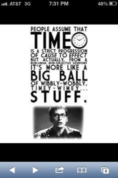 That's one of my favorite doctor who quotes