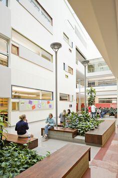 Happy Valley Middle-Elementary School, OR by BOORA Architects @IIDA Oregon #IIDAOR #education #interiors
