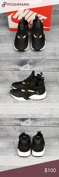 eb7cd79f0407 New Nike Huarache City Brand New With Box Nike Huarache City Color   Black Black