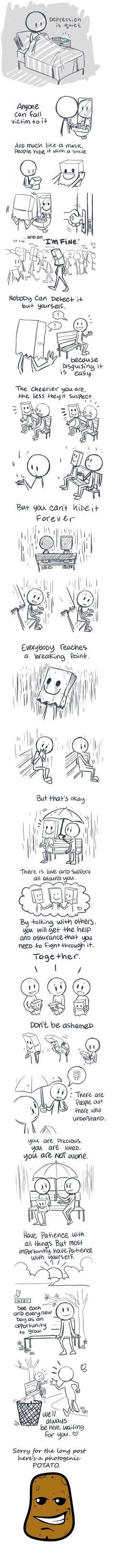 Depression is quiet