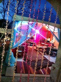 Bellydance party :: Moroccan decor  Grand Entrance