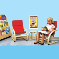 Cozy Corner Seating Set -  This table-and-chairs set will turn any corner of your classroom into an inviting nook.