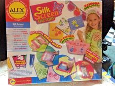 Alex Silk Screen Factory Activity Kit - Girls - New #ALEX
