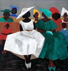 """""""First Sunday"""" by Lowcountry artist Jonathan Green"""